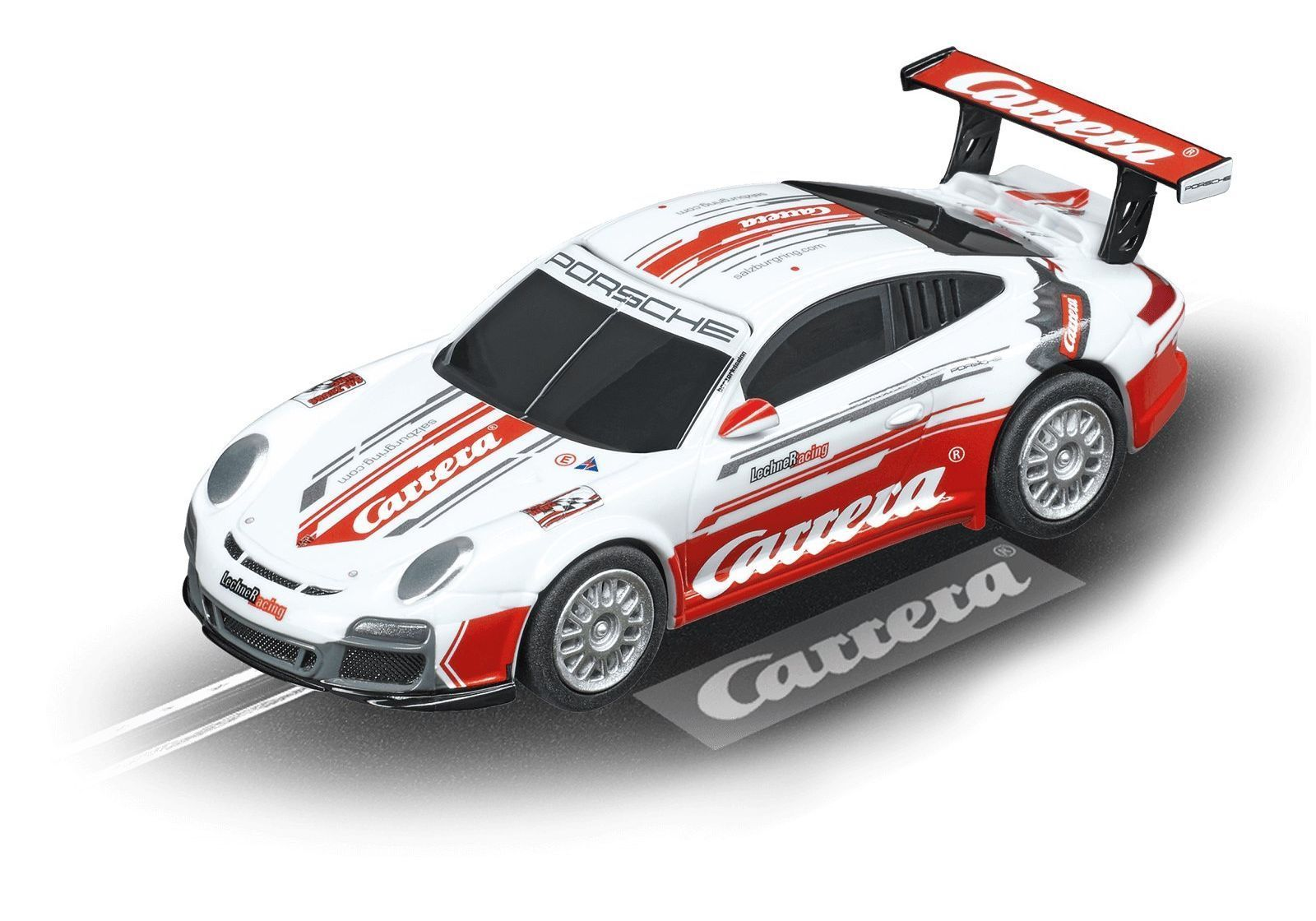 "картинка а/м Porsche GT3 Lechner Racing ""Carrera Race Taxi"", Carrera Digital 143 от магазина multi-race"